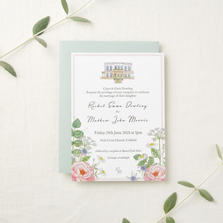 wildflower-peonie-wedding-stationery-invite-sarah-dowling-bristol-illustrator