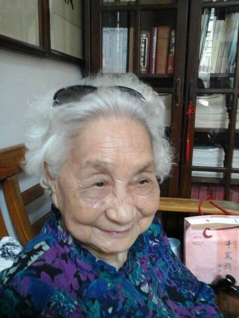 外婆的笑容