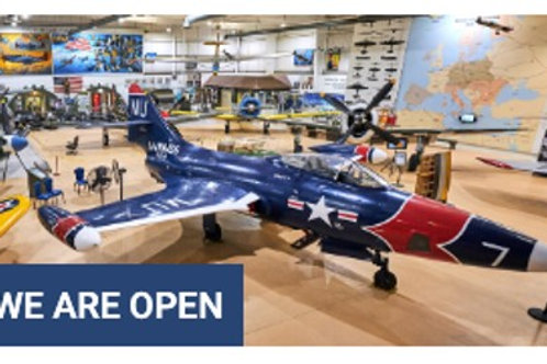 PALM SPRINGS AIR MUSEUM TICKETS FOR 4