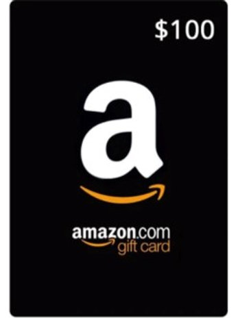 Amazon Gift Card  Valued at $100