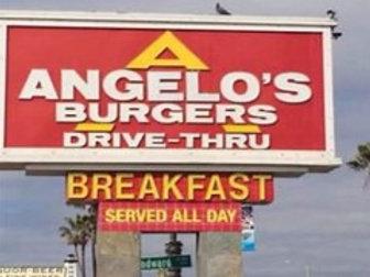 ANGELO'S BURGERS GIFT CARD