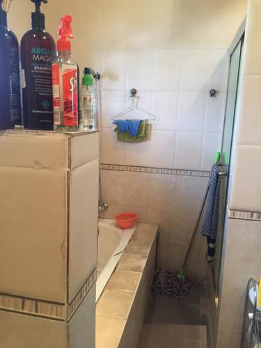 BATHROOM RENOVATION (BEFORE)