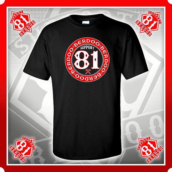 Inner Circle Black Support T Shirt