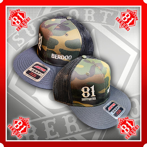Berdoo 81 Camo Snapback