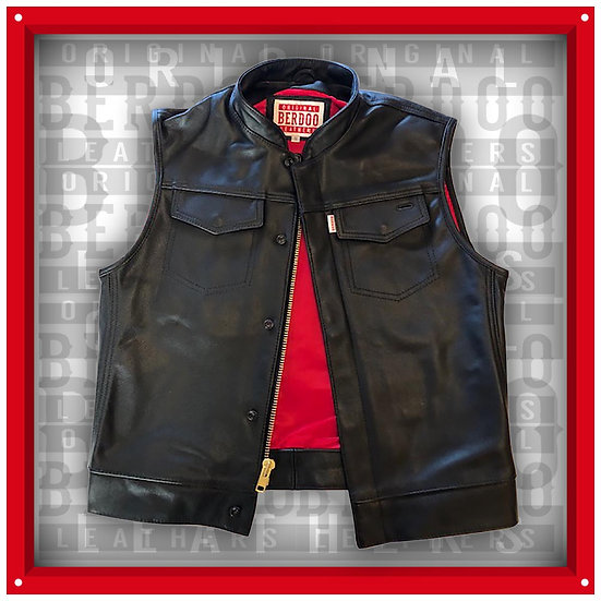 """1"""" Collared Vest"""