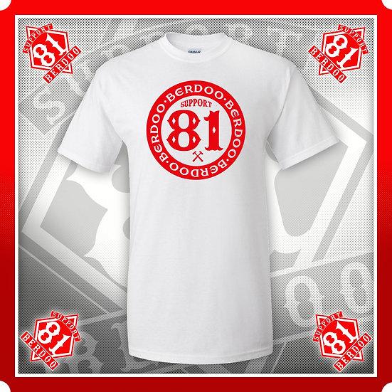 Inner Circle white Support T Shirt