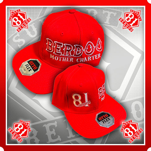 Mother Charter Red - Fitted Hat
