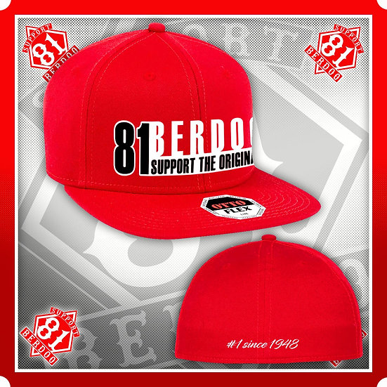 Hat Fitted #1 Since 1948 Red