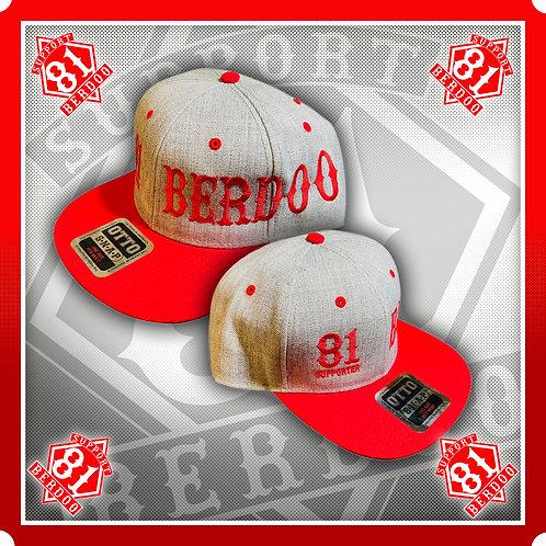 Berdoo 81 Grey Twill Snapback