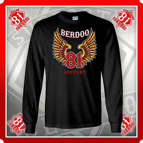 Classic Wings Support Long Sleeve T-Shirt
