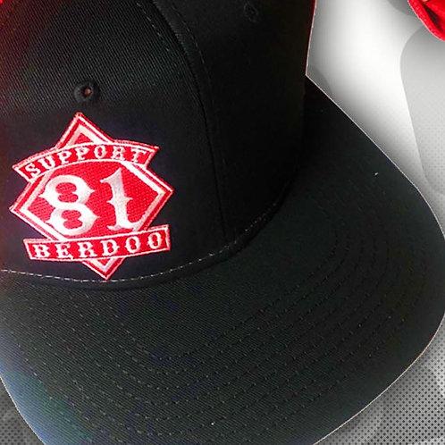 Diamond Black Snapback Hat