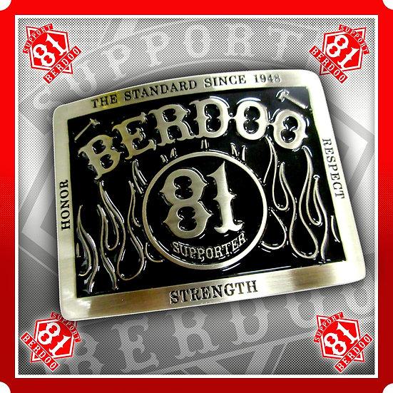 Belt Buckle 81 Berdoo Supporter