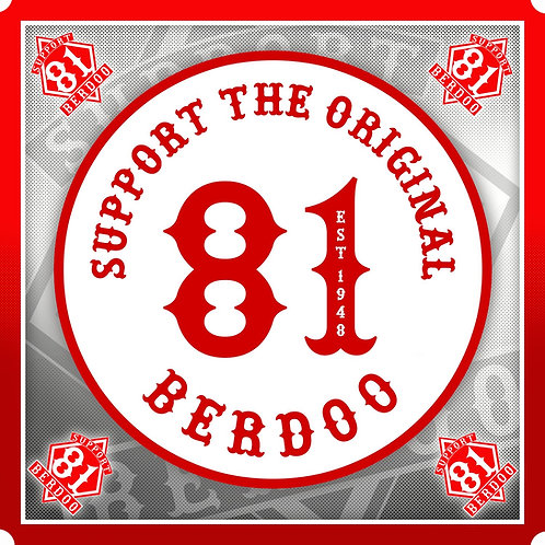 Sticker Original 81 Berdoo
