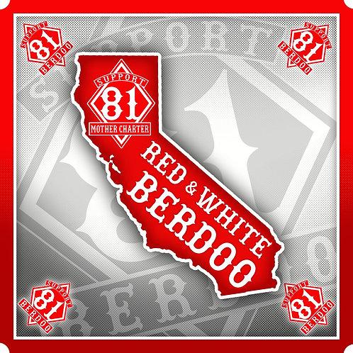 Berdoo California Sticker
