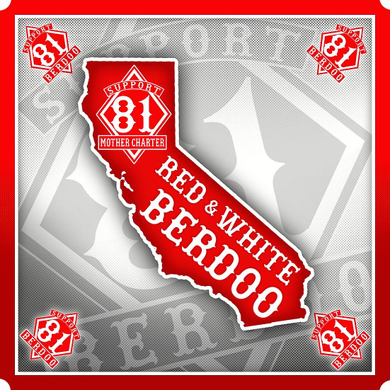 Berdoo California Sticker