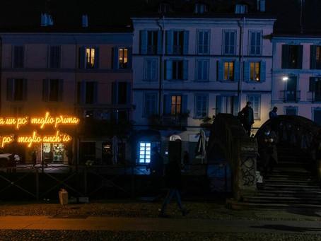 Franco 126 e Calcutta: illuminano da Roma a Milano.