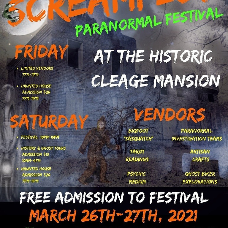 Screamfest Paranormal Festival