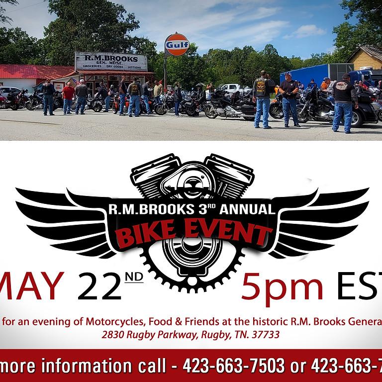 RM Brooks 3rd Annual Bike Event Meet & Greet