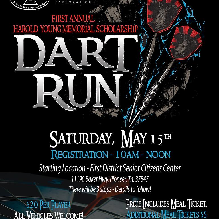 First Annual Harold Young Memorial Scholarship Dart Run