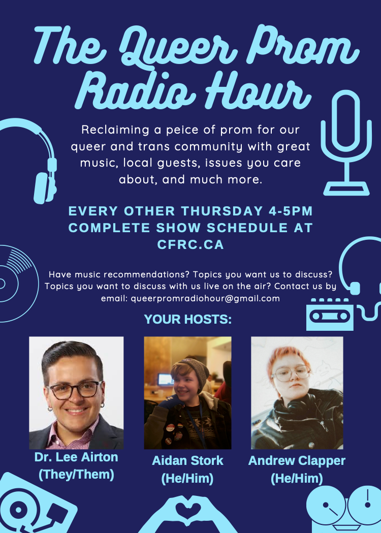 Queer Prom Radio Hour logo 2.png