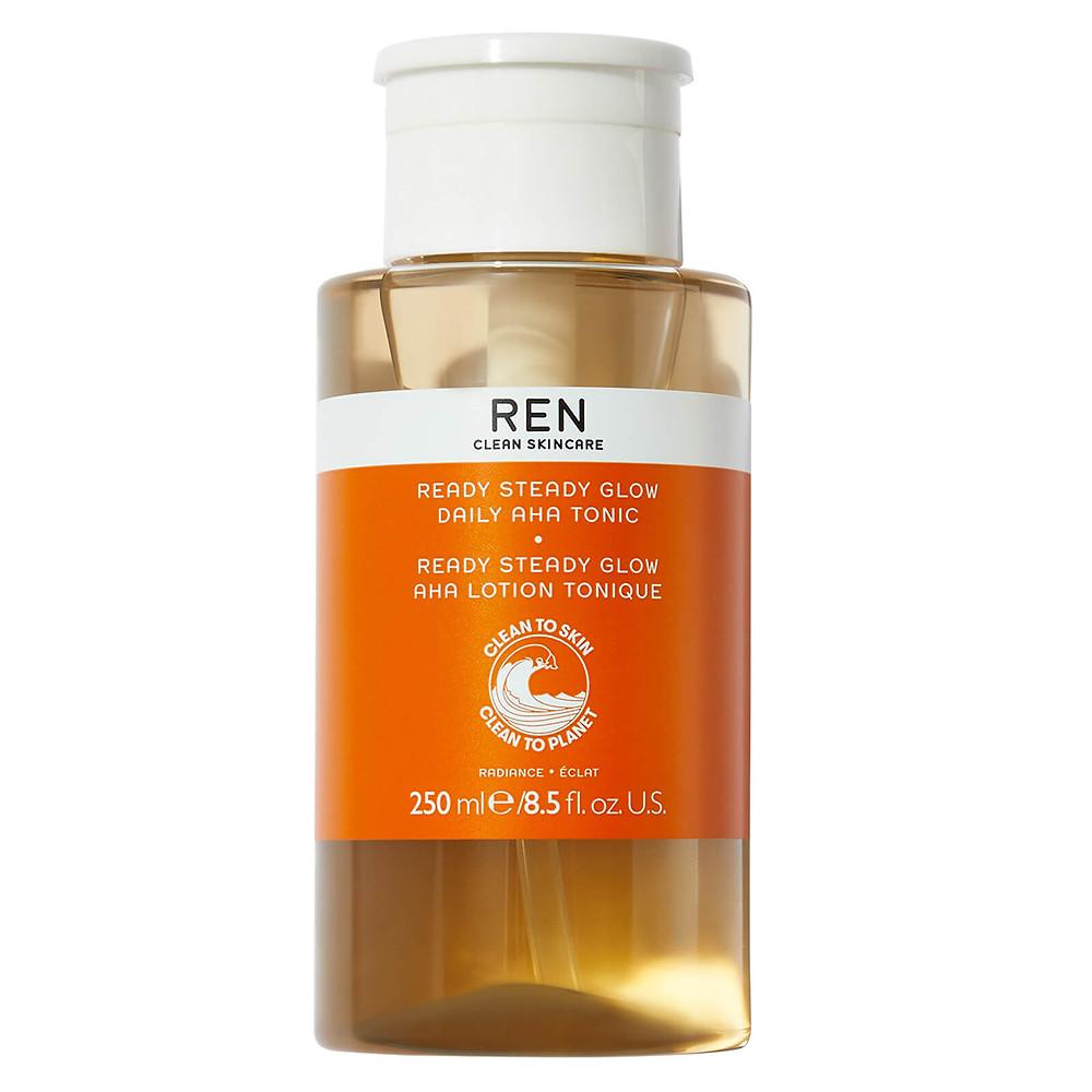 REN Clean Skincare Ready Steady Glow Daily AHA Tonic 250ml
