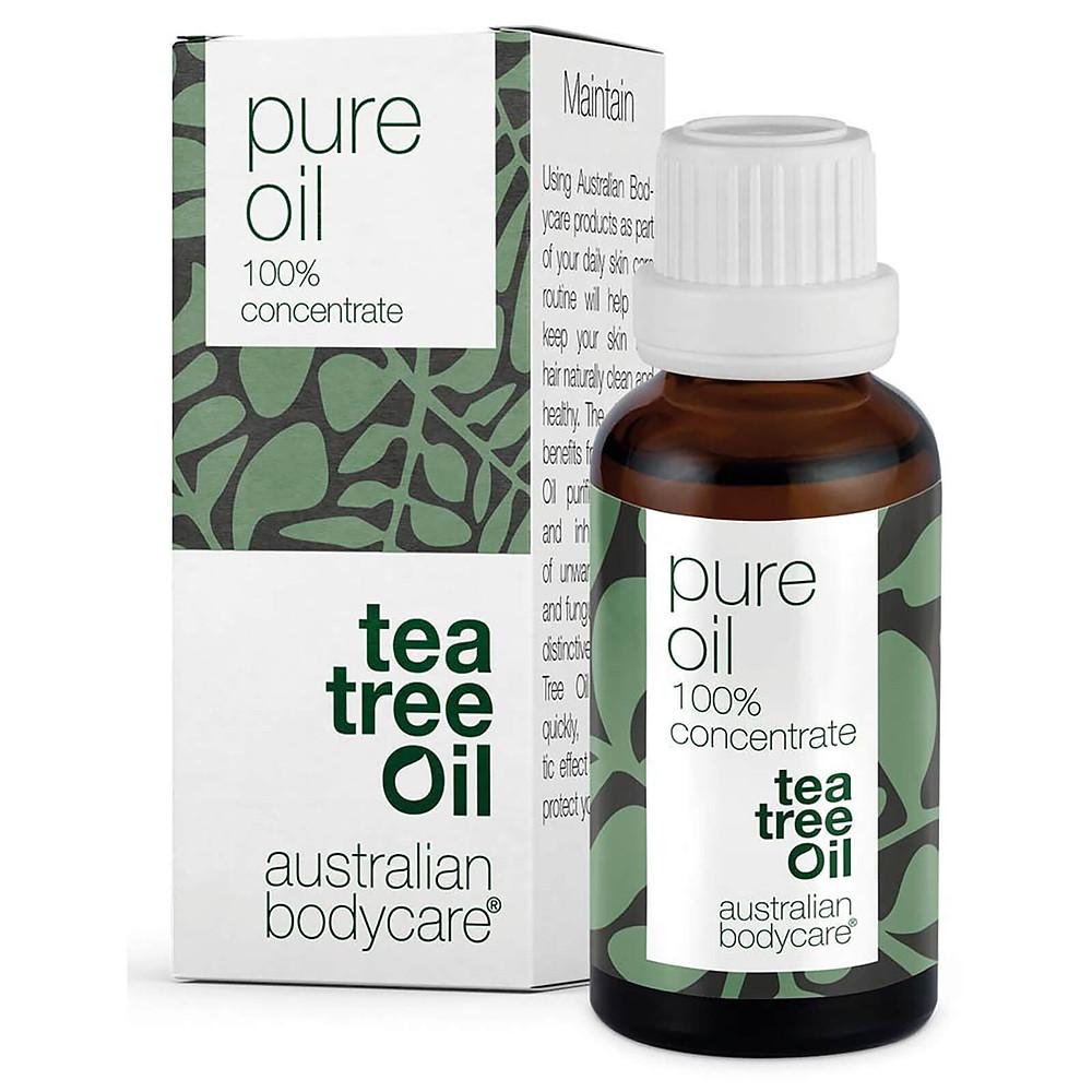 Pure tea tree oil australian bodycare