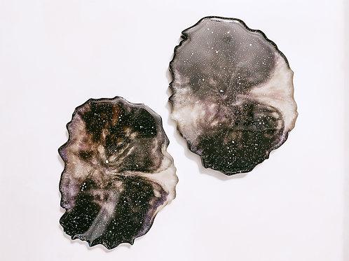 Nebula Resin Coaster Set