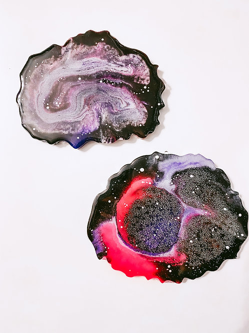 Space Chic Coaster Set