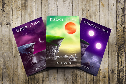 Seeker of Time Series Bundle-Autographed Copies