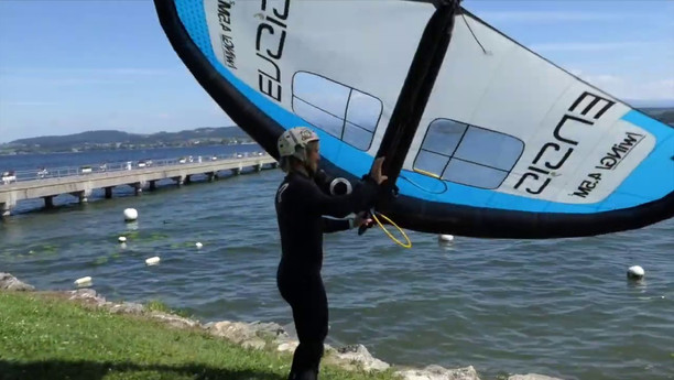 How To Use A Windsurfing Boom On Your ENSIS Wing
