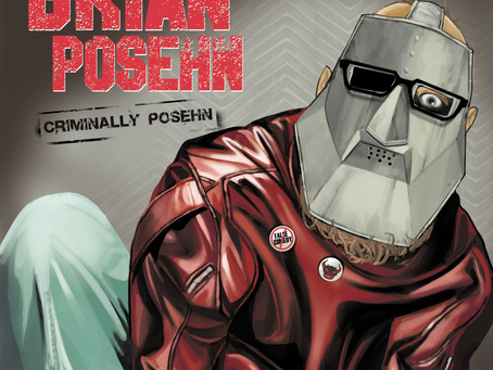 Brian Posehn's New Comedy Album: Criminally Posehn - Out on Audible Channels 8/19, Wide Release