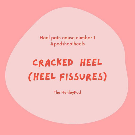 Cracked Heels (Heel Fissures):