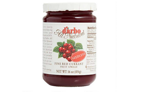 Darbo Fine Red Currant Seedless Fruit Spread (454g)