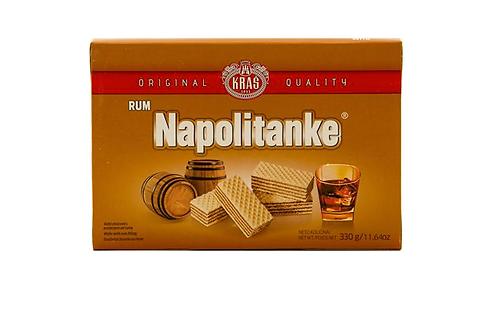 Kras Napolitanke Rum Cream Wafers (330g)