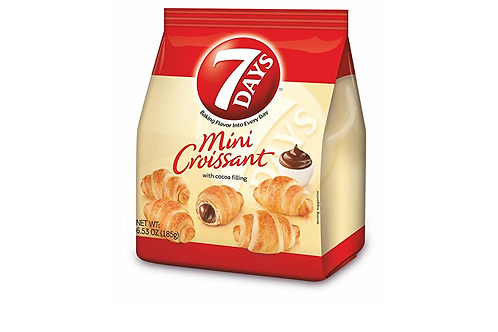 7Days Mini Croissant w/ Chocolate Cream Filling (185g)