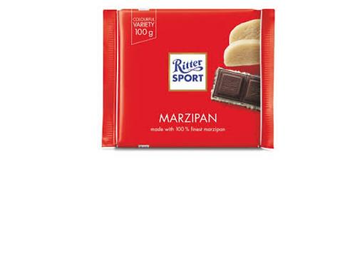 Ritter Sport Dark Chocolate w/ Marzipan (100g)