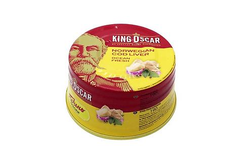 King Oscar Norwegian Cod Liver in Oil (190g)