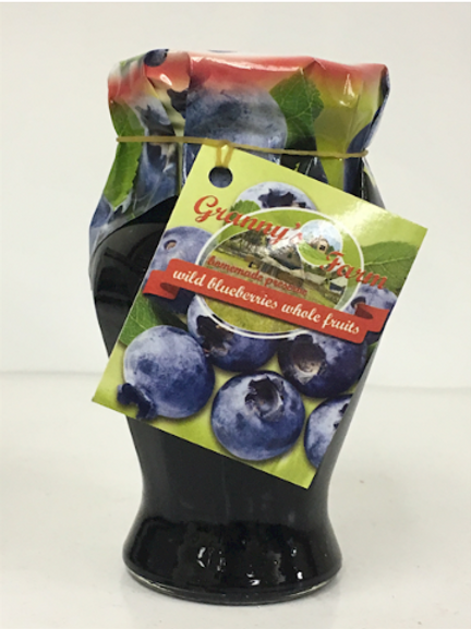 Granny's Farm Wild Blueberry Whole Fruit Preserve (245g)