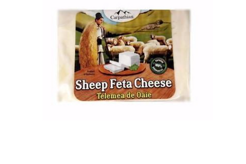 Carpathian Sheep Feta Cheese (Telemea)