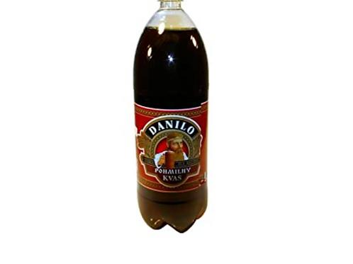 """Kvas Danilo """"Pohmilny"""" Non-Alcoholic Malt Beverage (2L)"""
