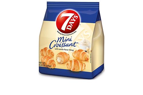 7Days Mini Croissant w/ Vanilla Flavored Filling (185g)