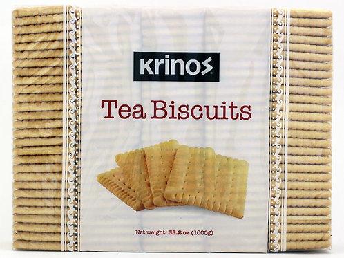 Krinos Tea Biscuits (1000g)