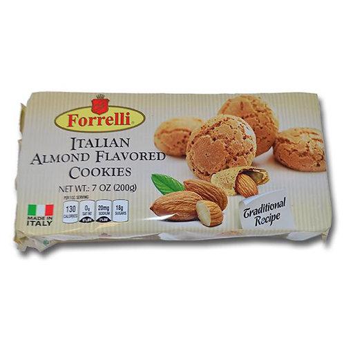 Forrelli Italian Almond Flavored Cookies 200g