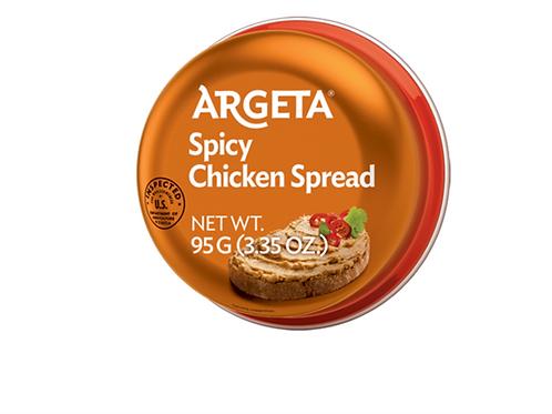 Argeta Spicy Chicken Spread Pate (95g)