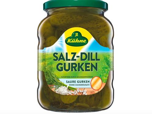Kuhne Salz-Dill Gurken (650g)