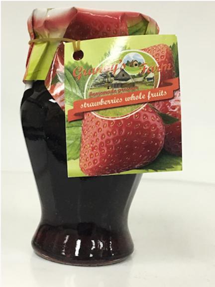 Granny's Farm Strawberry Whole Fruit Preserve (245g)