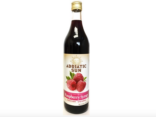 Adriatic Sun Raspberry Syrup 1L