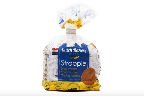 Dutch Bakery Stroopie Syrup Wafers (252g)