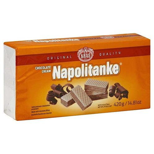 Kras Chocolate Cream Napolitanke 420g