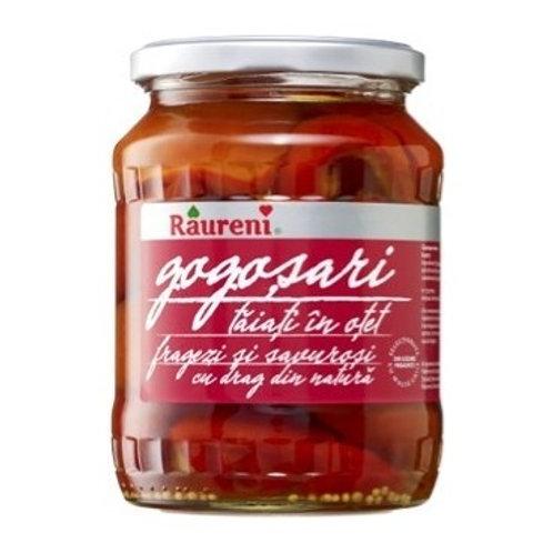 Raureni Gogosari Peppers Sliced in Vinegar (680g)